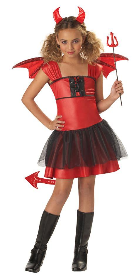 girls fancy dress halloween costumes the costume land kids devil darling girl costume 19 99 the costume land