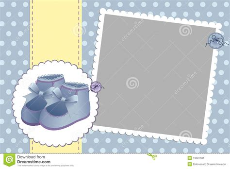 baby on board template template for baby s card stock vector image 19507561