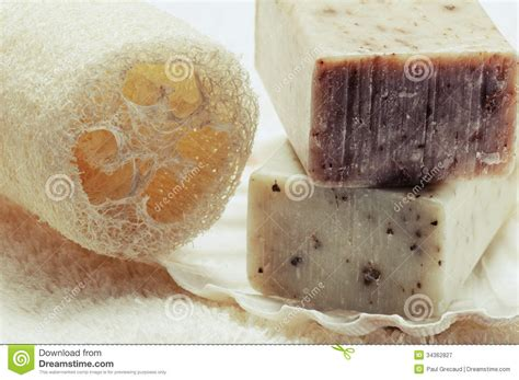 Handmade Organic Soap - handmade soap royalty free stock photography