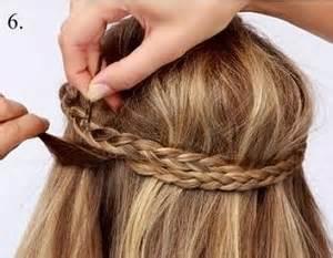 tutorial kepang rambut moderen tutorial rambut wanita kepang bando modern