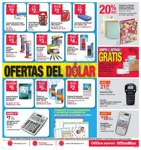 Office Depot Coupons Puerto Rico Office Max Shopper Back To School 3 Cuponeando Pr