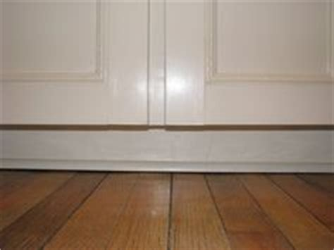 kitchen cabinet kick plate diy on pinterest