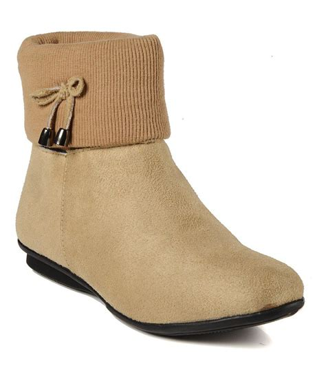 bruno manetti beige flat boots price in india buy bruno