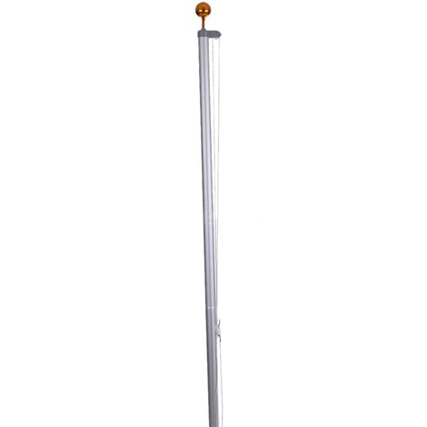 Sectional Flagpole by 20ft 25ft Sectional Aluminum Flag Pole Flagpole Kit Outdoor Halyard Event R2e7 Ebay