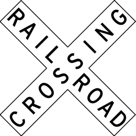 train crossing coloring page free coloring pages of railroad crossing