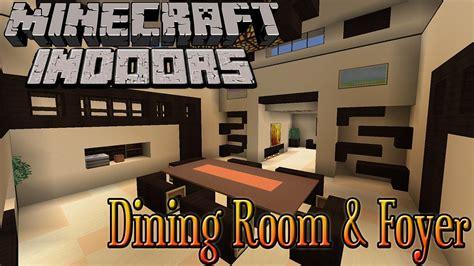 Modern Dining Room Minecraft Minecraft Indoors Dining Room Foyer