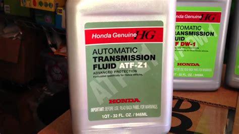 honda accord transmission fluid type honda atf dw 1 vs aft z1 automatic transmission fluid