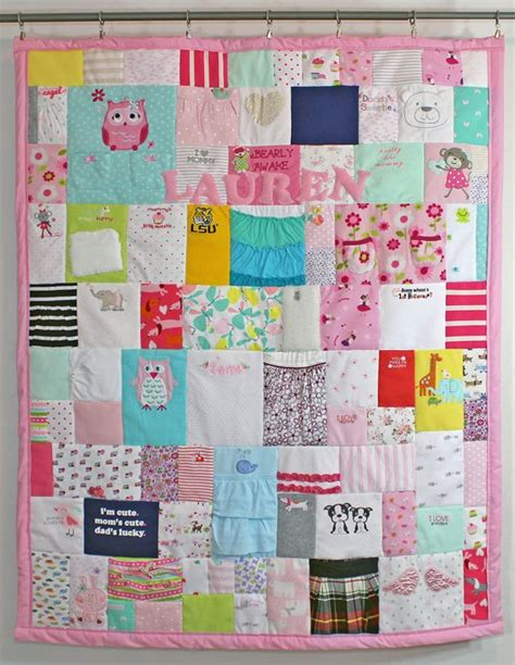 Diy Baby Clothes Quilt by Baby Clothing Quilt Year Quilt Made Of All The