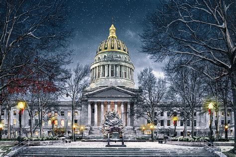 west virginia state capitol photograph by mary almond