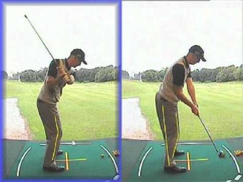 right leg straightening in golf swing insight straightening the trail leg to incraese hip turn