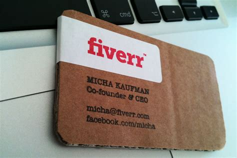 Co Founder Business Card