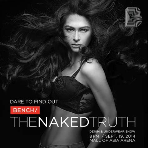 marian rivera for quot bench the naked truth denim