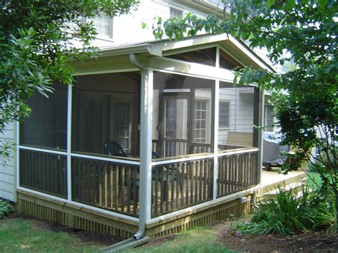 screened porch plans screened porch