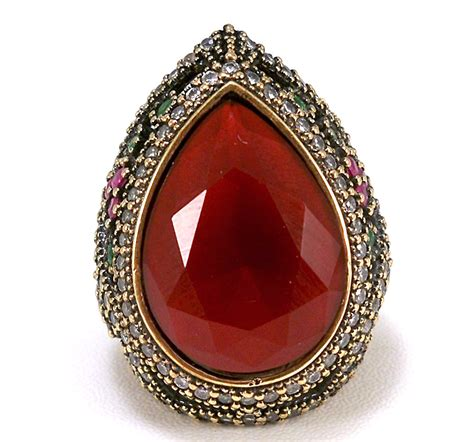 925 Sterling Silver Ring Kosem Sultan Roxelana Harem