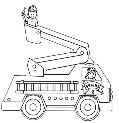 fire truck coloring page fire truck coloring pages printable sketch coloring page