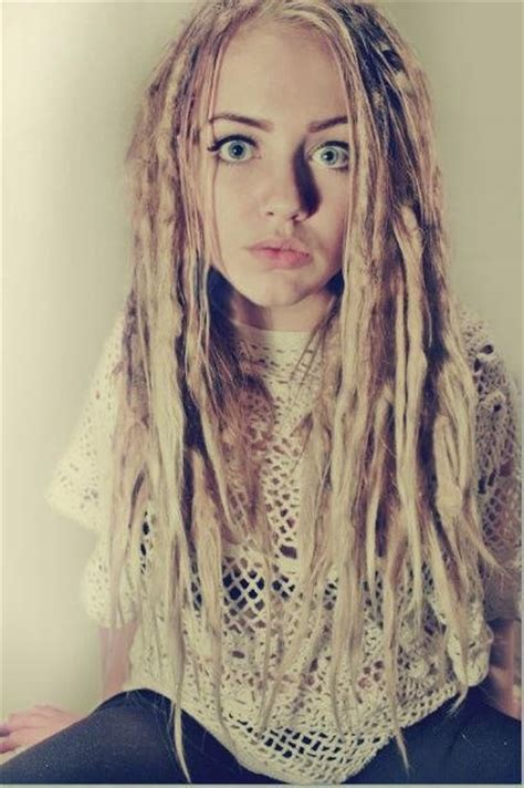 dreadlock models blonde dreads beauty pinterest dreads girl girls