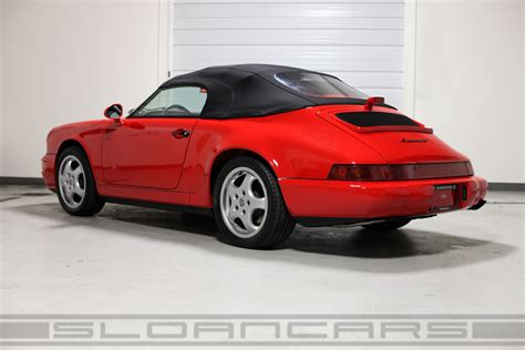 porsche 964 red 1994 porsche 964 speedster guards red 10 512 miles sloan