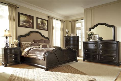 ashley bedroom set black ashley furniture bedroom sets black