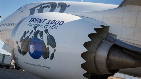 rolls royce trent 1000 ten rolls royce trent 1000 ten enters service