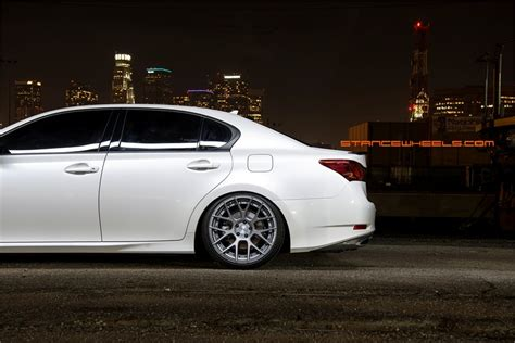 lexus gs350 stance to the stance sc8 sc 8 concave inner lip