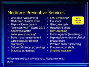 Medicare Annual Wellness Visit Template by Improving Preventive Health Care For Americans Text