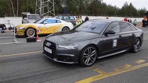 V8t Audi by Audi S6 V8t Vs Nissan Gt R Lucifer