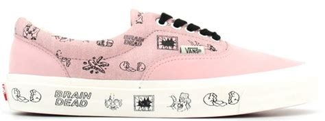 Vans X Brain Deads brain dead x vans era pink