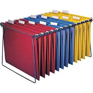 File Cabinet Hangers Staples 174 Hanging File System With Frame Each Staples 174