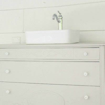 how to make a dresser into a bathroom vanity upcycled archives lovely etc
