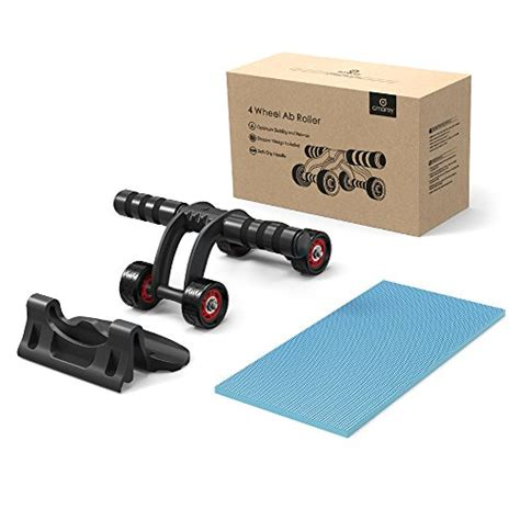 Lp Support Ab Wheel With Nbr Knee Mat Wheel Roda Exercise 4 wheel ab roller wheel for abdominal workout with knee pad and stopper barbell academy