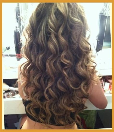 when was big perm hair popular long hair permed front short hairstyle 2013
