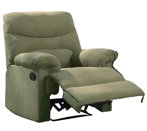 plush recliner new brown microfiber recliner lazy chair arm plush