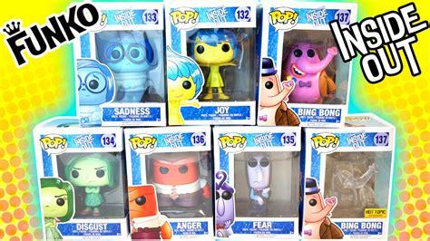 Funko Pop Disney Inside Out Bong Clear Exclusive 137 disney pixar inside out funko pops ht exclusive clear bong