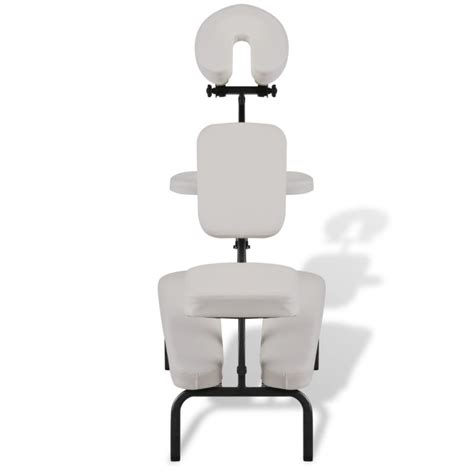 white portable chair portable folding faux leather chair white buy