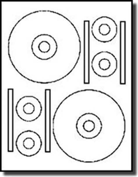 cdstomper template 40 stomper 174 pro format cd dvd labels matte white for