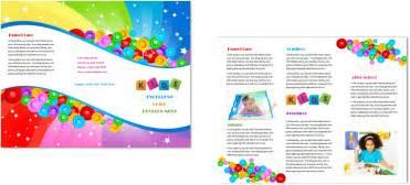 child care brochure templates child care brochure template 7 child care owner