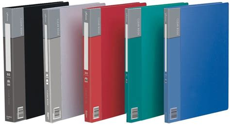 Clear Holder Vividus 60 Lembar Clear Book 60 Sheets clear book accupoint systems inc