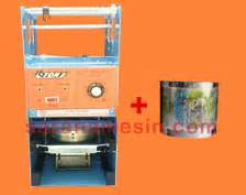 Mesin Cup Sealer Getra Free Lid Sealer mesin cup sealer manual murah saranamesin