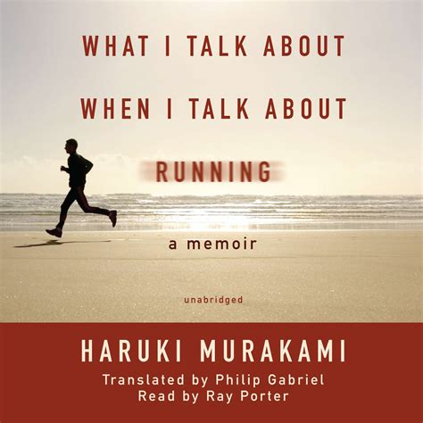 When I Talk About When I Talk About Running Haruki Murakami what i talk about when i talk about running audiobook by haruki murakami for just 5 95