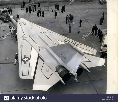 1962 The F 111 Swing Wing Tactical Fighter Of Show At R