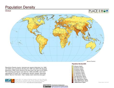 population map maps 187 population landscape and climate estimates place v2 sedac