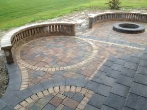 Brick Patio Designs Patio Pavers Landscaping Designs Arbor Trees