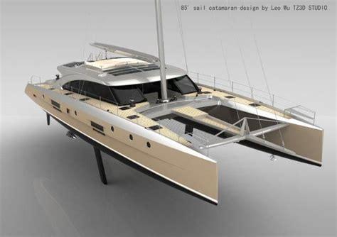 catamaran sails design tz3d 85 sailing catamaran ships pinterest sailing