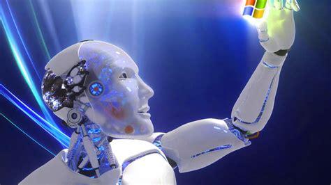 fondos de pantalla robots fondo escritorio robot 3d windows