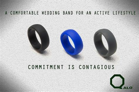 Wedding Rings For Working Out by Qalo Ring A Solution For Working Out With A Wedding Band