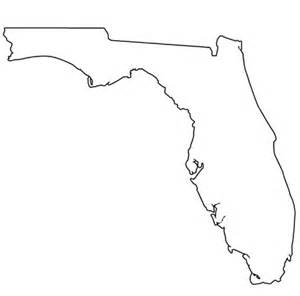 florida state map outline printable shape of florida printable treats