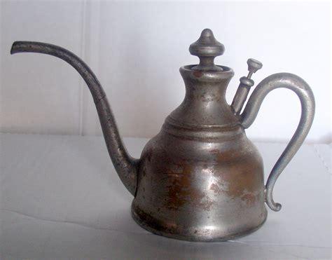 nickel plated copper antique manning bowman kerosene oil l filler nickel