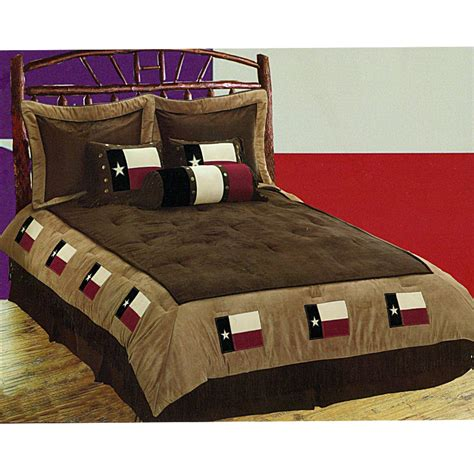 texas flag western comforter bedding set