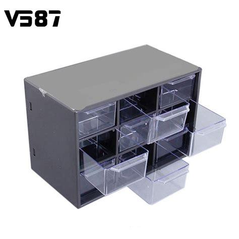 New Portable Square 5 Grid Small Boxes Mini Storage Drawers Reviews Shopping Mini