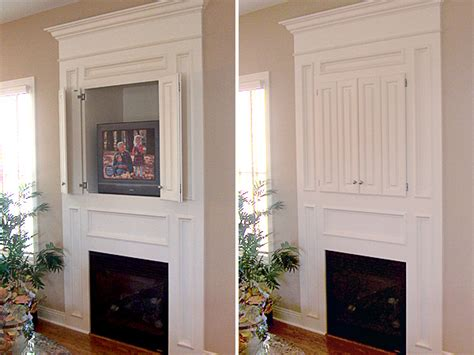 Hide Fireplace by New York Woodsmiths